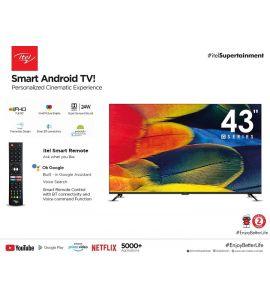"Itel Smart android tv G series 43"" - Instalment _ SNS"