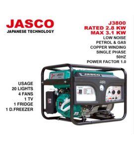 JASCO J3800 - 3.1KW - Generator - Instalment - JS