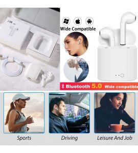 HBQ I1 TWS Twins True Wireless Ear Buds Mini Bluetooth V4.2 – White..