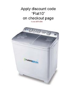Kenwood Washing Machine Semi Automatic KWM-1012SA 10 Kg Flat 10 %