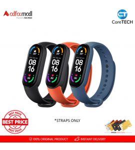 Mi Smart Band 6 Strap 3-Pack Avaliable In 3 Color (Black, Orange, Blue) CoreTECH