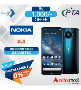 Nokia 8.3 8GB, 128GB On Easy Installment with Official Waranty - Salamtec