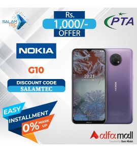 Nokia G10 4GB, 64GB On Easy Installment with Official Warranty - Salamtec