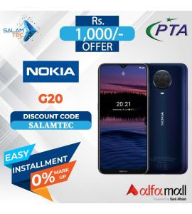 Nokia G20 4GB, 128GB On Easy Installment with Official Warranty - Salamtec