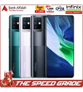 Infinix Note 10 - 6GB RAM - 128GB Storage - 1 Year Official Brand Warranty   The Speed Grade