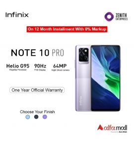 Infinix Note 10 Pro 8GB+128GB With One Year Official Warranty On 12 Month Installment With 0% Markup Colors - 95 Degree Black, 7 Degree Purple & Nordic Secret - Zenith Enterprise