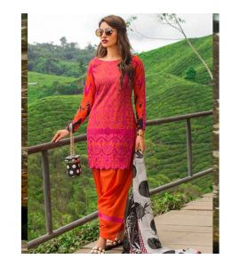 Zainab Chottani Luxury Lawn Collection 2019 3 Piece (Meerah Suka 07A) - IS