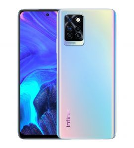 Infinix Note 10 Pro 8GB+128GB With One Year Official Warranty On 12 Month Installment With 0% Markup Colors - 95 Degree Black, 7 Degree Purple & Nordic Secret - Zenith Enterprise-9 Months 0% Markup-Silver