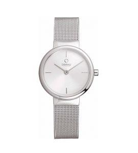 Obaku Mesh Women's Watch Silver (V153LXCIMC)