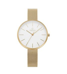 Obaku Viol Women's Watch Gold (V211LXGIMG)