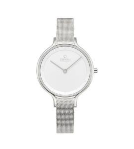 Obaku Kyst Steel Women's Watch Silver (V228LXCIMC)