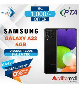 Samsung Galaxy A22 4GB, 128GB On Easy Installment - Salamtec