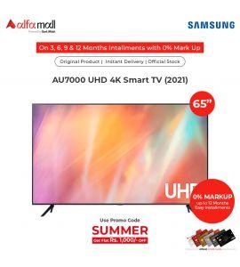 Samsung 65 Inches CRYSTAL UHD 4K Smart TV - (AU7000) – OFFICIAL WARRANTY CoreTECH Installment