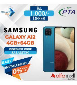 Samsung Galaxy A12 4GB, 64GB On Easy Installment - Salamtec