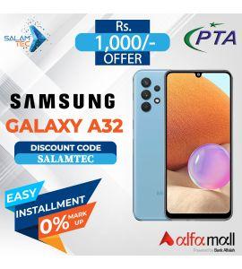 samsung galaxy A32 6GB+128GB with Official Warranty On Easy Installment-SalamTec