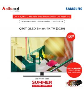 Samsung Q70T 65 Inches 4K UHD HDR Smart QLED TV Official Warranty CoreTECH Installment
