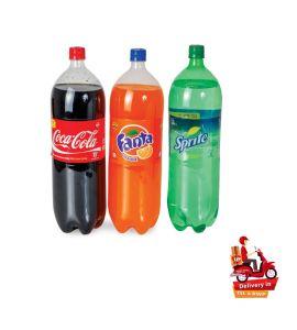 Coke Sprite Fanta  2.25Ltr