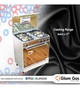 Cooking Range Gas - GG-BAKERS 27 TG