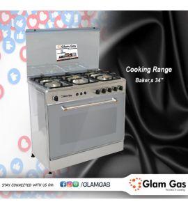 Cooking Range Gas - GG-BAKERS 34 TG
