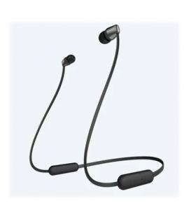 Sony Wireless In-Ear Headphones Black (WI-C310) - On Installment - IS