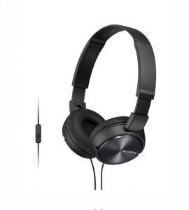 Sony Stereo On-Ear Headphones Black (MDR-ZX310AP) - On Installment - IS