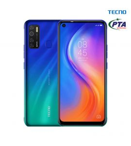 Tecno Spark 5 Pro - 6.6 Inch Display - 4GB RAM – 64GB ROM - PTA Approved - 1 Year Official Brand Warranty – Seabed Blue