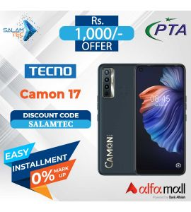 Tecno Camon 17 6GB, 128GB On Easy Installment with Official Warranty - Salamtec