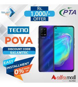 Tecno Pova (6GB, 128GB) On Easy Installment with Official Warranty - Salamtec