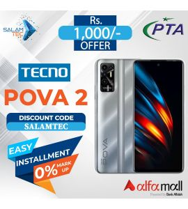 Tecno Pova 2 6GB,128GB On Easy Installment with Official Warranty - Salamtec