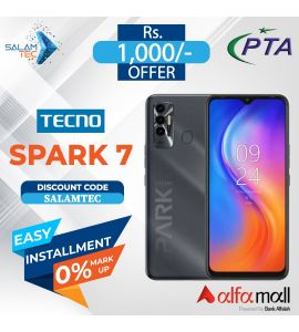 Tecno Spark 7 4gb/64gb with Official Warranty On Easy Installment-SalamTec