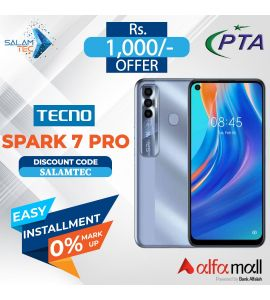 tecno Spark 7 Pro 4GB, 64GB On Easy Installment with Official Warranty - Salamtec