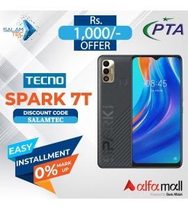 Tecno Spark 7T 4GB, 64GB On Easy Installment with Official Warranty - Salamtec