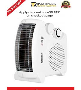 Sinbo Room Fan Heater With Thermostat Control FH-06 Free Shipping - Flat 5%