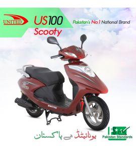 United 100cc-Scooty