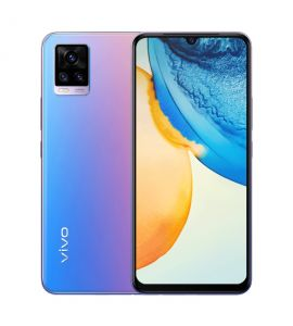 Vivo V20 - 6.44 Inch Display - 8GB RAM - 128GB ROM - PTA Approved - 1 Year Official Brand Warranty - Sunset Melody