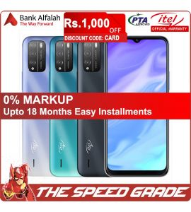 Itel Vision 1 Pro - 6.5 Inch Display - 3GB RAM - 32GB Storage - 1 Year Official Brand Warranty   On Installments   The Speed Grade