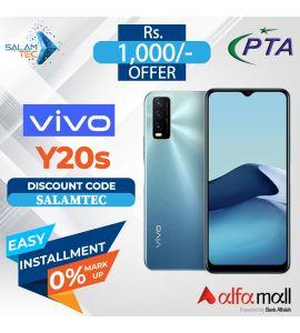 VIVO Y20s (4GB,128GB) On Easy Installment with Official Warranty -SalamTec