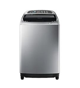 Samsung Top Load Fully Automatic Washing Machine 11Kg Gray (WA11T5260BY) - On Installment - IS