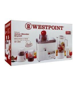 Westpoint 1802  Juicer blender & dry mill 3 in1 - SNS - INSTALLMENT