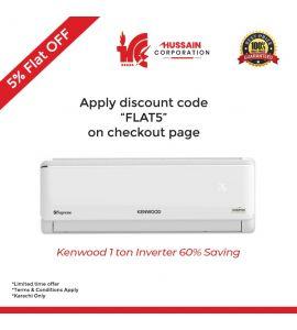 KENWOOD 1 Ton E Supreme Inverter KES-1239S 60% Energy Saving-KARACHI ONLY-INCLUDING FREE DELIVERY-FLAT 5% OFF