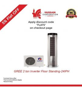 Gree 2 Ton Inverter Floor Standing AC (GF-24-IPH)-KARACHI ONLY-INCLUDING FREE DELIVERY-FLAT 5 % OFF