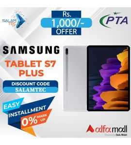 Samsung Tablet S7 plus 12.4 inch 8GB, 256GB On Easy Installment with Official Warranty - Salamtec