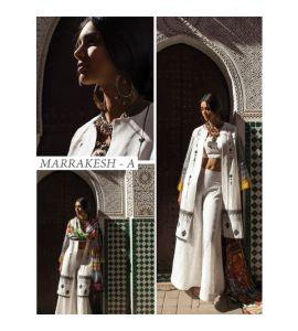 Zara Shahjahan Lawn Collection 2019 3 Piece Snow White (ZSL Marrakesh-A) - IS