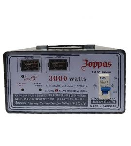 Zoppas Fully Automatic Voltage Stabilizer 3000 Watts