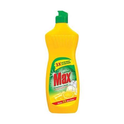 Lemon Max Dish Wash Liquid Yellow 475 ml